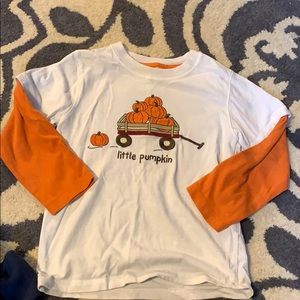 Gymboree pumpkin tee